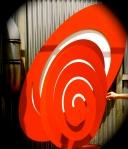Spiral ellipse.